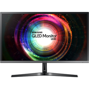 "Monitor LED SAMSUNG LU28H750UQUXEN, 27.9"", UHD 4K, FreeSync, negru-gri"