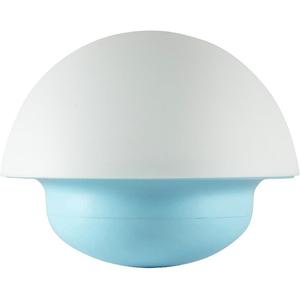 Lampa de veghe LED HOME NLG 1, forma ciuperca, alb-albstru