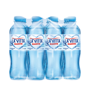 Apa minerala naturala plata LA VITTA, 0.5L, bax, 12 sticle