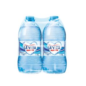 Apa minerala naturala plata LA VITTA, 5L, bax, 2 sticle