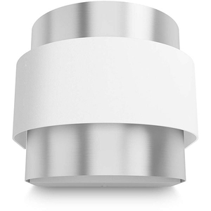 Lampa de perete PHILIPS myLiving Drava 33515/31/16, 6W, alb-argintiu