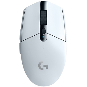 Mouse Gaming Wireless LOGITECH G305 Lightspeed, 12000 dpi, alb