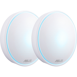 Sistem Wireless Mesh ASUS Lyra Mini AC1300, Dual Band 400 + 867 Mbps, 2 Buc, alb