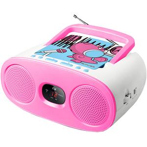 Radio CD portabil MUSE M-20 KDG, CD, FM/MW, roz