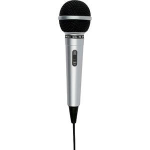 Microfon de mana cu fir SAL M 41, Jack 6.3, argintiu