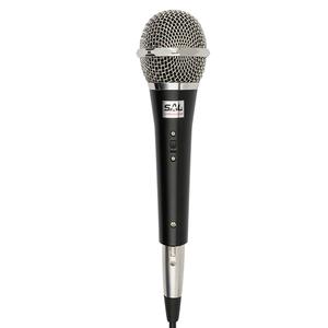 Microfon de mana cu fir SAL M 71, Jack 6.3, negru-argintiu