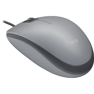Mouse cu fir LOGITECH M110 Silent, 1000 dpi, gri