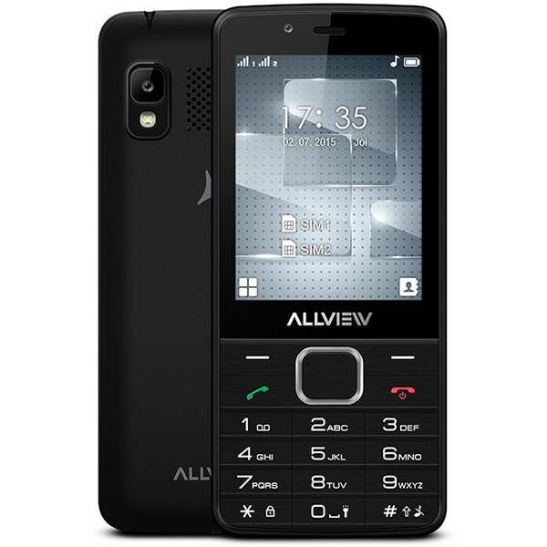 Telefon mobil ALLVIEW M10 Luna, 2G, dual sim, Black