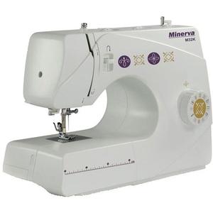 Masina de cusut MINERVA M32K, 32 programe, 85W, alb