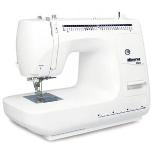 Masina de cusut MINERVA M932, 85W, 800 imp/min, 35 programe, alb