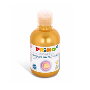 Tempera metalizata MOROCOLOR Primo, 300 ml, auriu