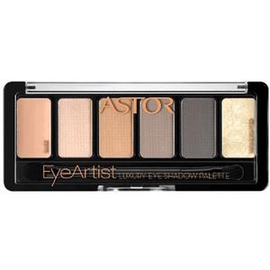 Paleta farduri ASTOR Eye Artist Luxury, 100 Cosy Nude, 5.6g