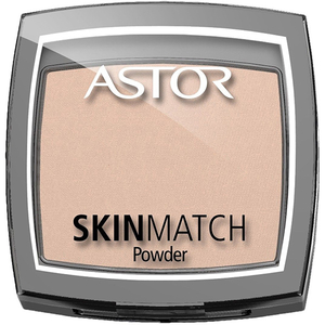 Pudra compacta ASTOR SkinMatch Protect, 201 Sand, 7g