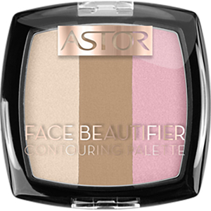 Paleta de conturare ASTOR Face Beautifier, 001 Light, 9.2g