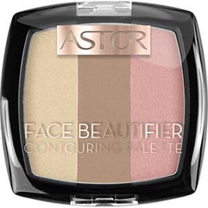 Paleta de conturare ASTOR Face Beautifier, 002 Medium, 9.2g
