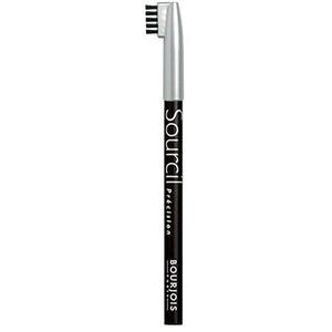 Creion pentru sprancene BOURJOIS Sourcil Precision, 01 Noir Ebene, 1.13g