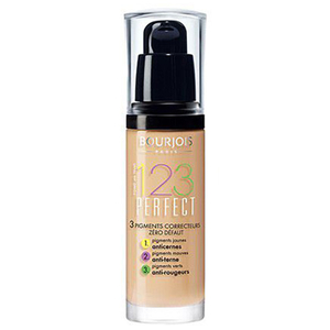 Fond de ten BOURJOIS 123 Perfect, 55 Beige Fonce, 30ml