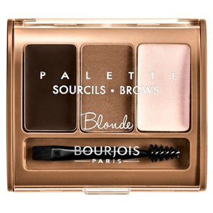 Kit pentru sprancene BOURJOIS Brow Palette, 01 Blonde, 4.5g