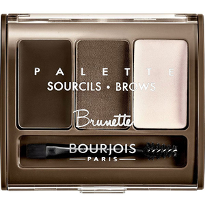 Kit pentru sprancene BOURJOIS Brow Palette, 02 Brunette, 4.5g