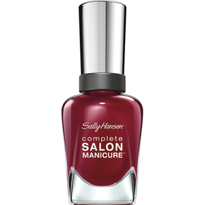 Lac de unghii SALLY HANSEN Complete Salon Manicure, 610 Red Zin, 14.7ml