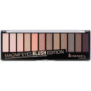 Paleta farduri RIMMEL London Magnif'Eyes 12-PAN, 002 Blush Edition, 14.2g