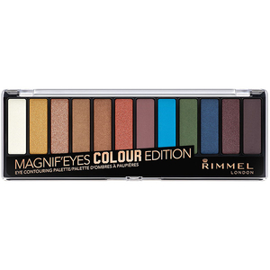 Paleta farduri RIMMEL London Magnif'Eyes 12-PAN, 004 Colour Edition, 14.2g