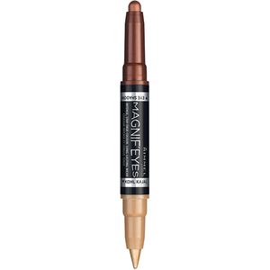 Fard de ochi RIMMEL London Magnif'eyes Double Liner&Eyeshadow, 003 Queens of the Bronzed Age, 1.6g