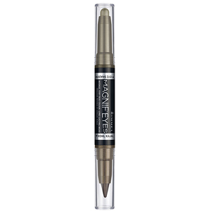 Fard de ochi RIMMEL London Magnif'eyes Double Liner&Eyeshadow, 009 Mossy Magic, 1.6g