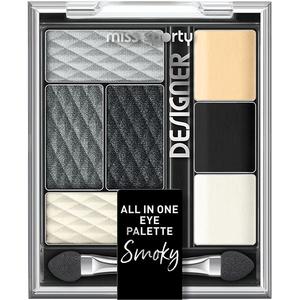 Paleta farduri pentru ochi MISS SPORTY Designer, 200 Smokey Black Designer, 9.5g