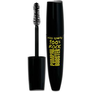 Mascara MISS SPORTY Pump Up Booster 100% Rock, Black, 12ml