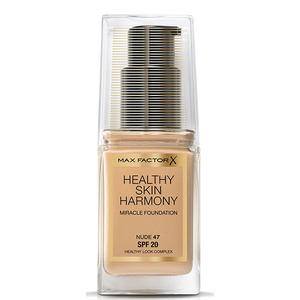 Fond de ten Max Factor Healthy Skin Harmony, Miracle Foundation, 47 Nude, 30 ml