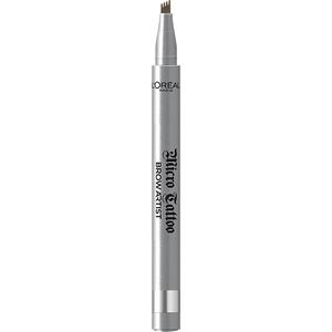 Creion pentru sprancene L'OREAL PARIS Brow Artist Micro Tattoo, 108  Warm Brunette, 5g