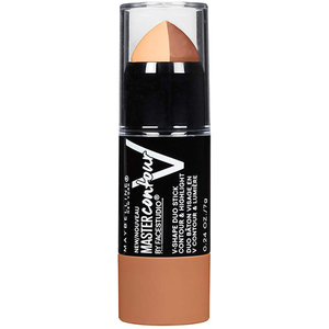 Baton de conturare a fetei MAYBELLINE NEW YORK Master Contour V-Shape Duo, 2 Medium, 7g
