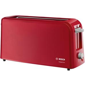 Prajitor de paine BOSCH TAT3A004, 980W, rosu