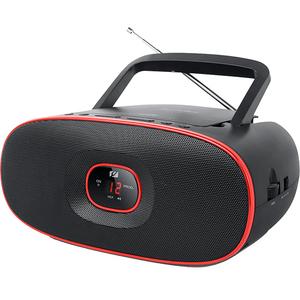 Radio CD portabil MUSE MD-202 RD, CD, FM/MW, negru-rosu