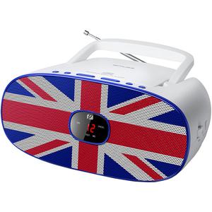 Radio CD portabil MUSE MD-205 UK, CD, FM/MW, alb