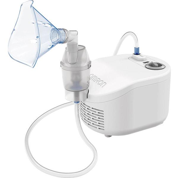 Aparat de aerosoli cu piston OMRON NE-C101-E, alb