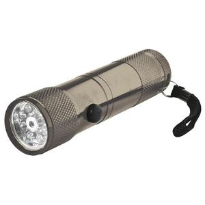 Lanterna metalica cu LED-uri HOME MFL 02, 8 LED-uri, negru