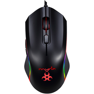 Mouse Gaming MYRIA MG7515, 4800 dpi, negru