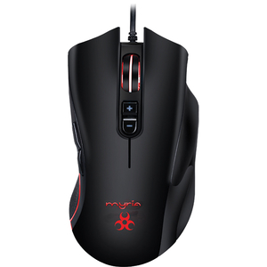 Mouse Gaming MYRIA MG7517, 4800 dpi, negru