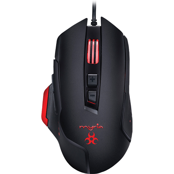 Mouse Gaming MYRIA MG7518, 4800 dpi, negru