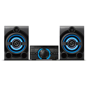 Sistem audio High Power SONY MHC-M60D, Hi-Fi, Bluetooth, Dj Effects, USB, DVD, Party music, Party lights, Negru