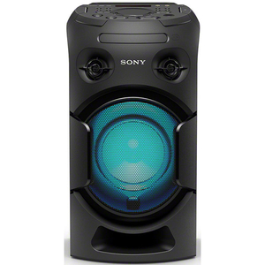 Sistem audio High Power SONY MHC-V21D, Hi-Fi, Party Music, Bluetooth, NFC, Wireless Party Chain, HDMI, DVD, USB, Negru