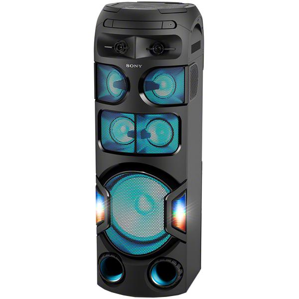 Sistem audio High Power SONY MHC-V82D, Hi-Fi, Bluetooth, NFC, LDAC, Party speaker, Sunet 360 grade, USB, DVD, FM, Negru