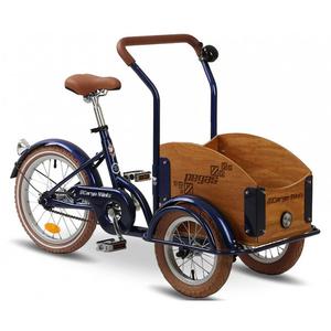 Bicicleta pentru copii PEGAS Mini Cargo 1S, Albastru Calator