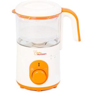 Aparat de gatit cu aburi OURSSON Cream Soup Maker BL1050HT/OR, 500W, alb - portocaliu