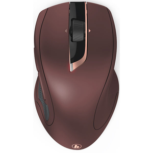 Mouse Wireless HAMA MW-900, 2400 dpi, negru-visiniu