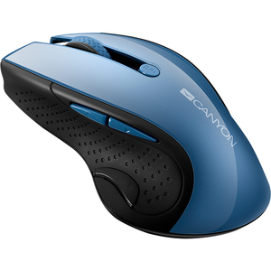 Mouse Wireless CANYON CNS-CMSW01BL, 1600 dpi, albastru