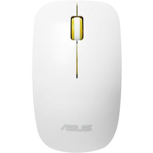 Mouse Wireless ASUS WT300, 1600 dpi, alb-galben