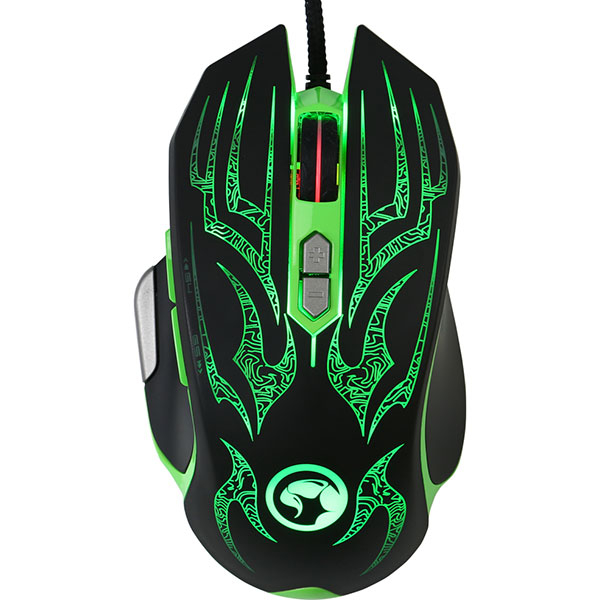 Mouse Gaming MARVO G920, 4000 dpi, verde